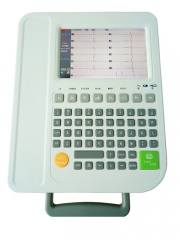 "12 channels 12 leads 7"" color TFT LCD Screen ECG EKG machine"