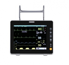 8inch color LCD screen 6 parameters Patient monitor