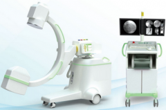 12KW 160mA High frequency Mobile X-ray C-arm System