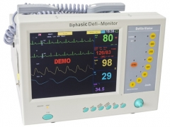 Biphasic Defi-monitor Defibrillator