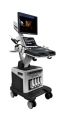 4D trolley cardiac color doppler ultrasound