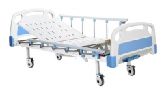 Two Manual Crank Care Bed
