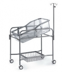Stainless Steel Baby Bed Trolley