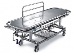 Stainless Steel Patient Stretcher With Manual Crank