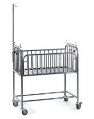 Stainless Steel Baby Cot Bed