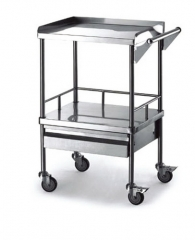 Stainless Steel Anesthesia Trolley
