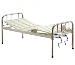 Two Manual Crank Care Bed (S.S Headboard)