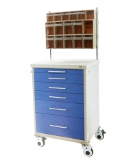 Luxury Steel-plastic Anesthesia Trolley