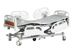 Electric gear medical bed
