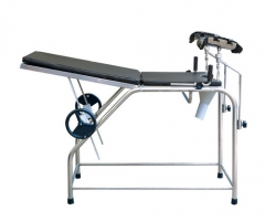 Manual Gynecological diagnosing Delivery bed