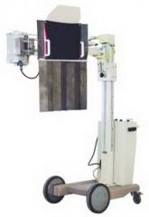 50mA Mobile  X-ray unit for Fluoroscopy and Radiography
