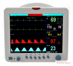 12.1 inches LCD display 6 Multi Parameters Patient Monitor