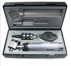 Professional Fiber Ophthalmoscope & Otoscope Set