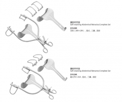 Self-retaining Abdominal Retractor