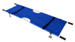 Medical folding stretcher