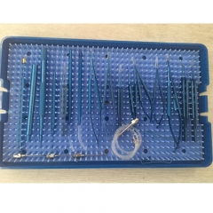 Ophthalmic Cataract and Intraocular Lens Implantation Surgical Micro Instrument Set