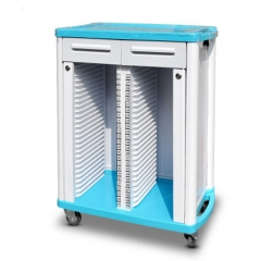 ABS Medical Records Trolley