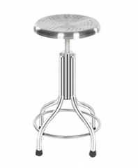Stainless Steel High Stool 4 Legs