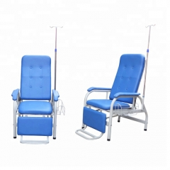 foldable and convenient infusion chair with front board