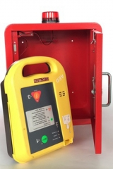 Alarm First Aid AED Defibrillator wall Cabinet