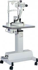 Keratometer with electric table