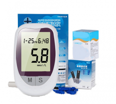 Blood Glucose Glucometer Monitoring System