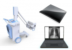 High Frequency DR Digital Mobile Xray Machine