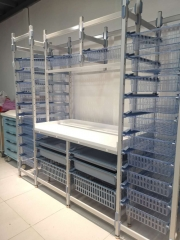 Retail Pharmacy Medicine Drug Storage Display Racks Shelving Units System